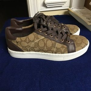 Coach Paddy Signature Monogram Sneakers